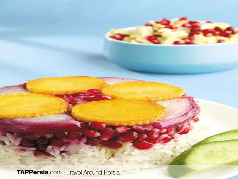 Turkmen Food - Iran - Busteremeh