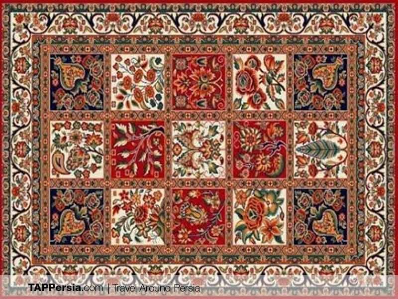 Lur Ethnic - Iran - Bakhtiari Carpet