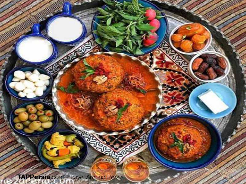 Azeri Food - Iran - Koofteh Tabrizi