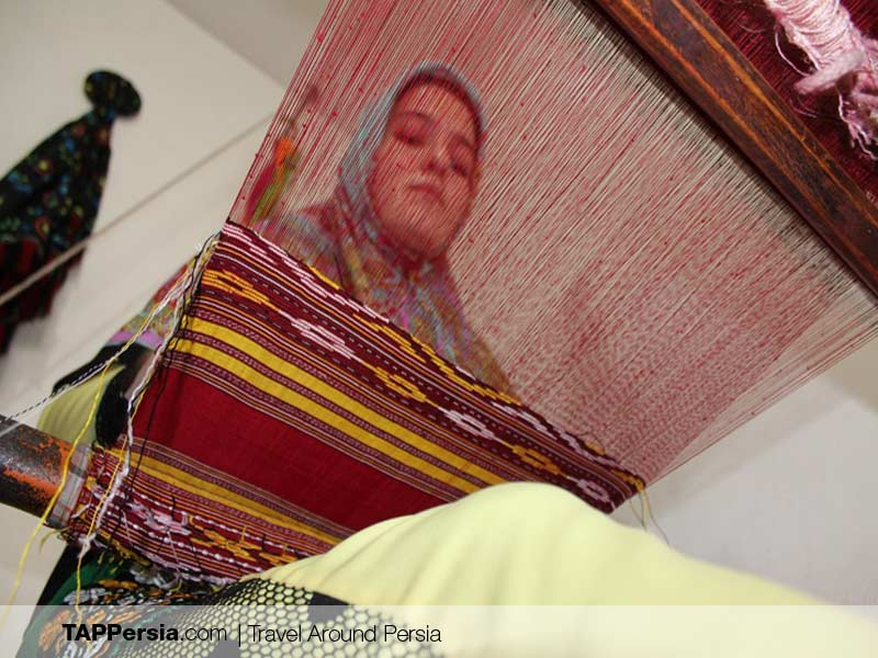Iranian Turkmen - Turkmen Silk