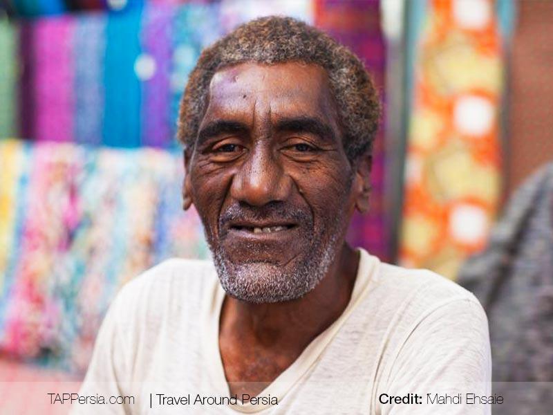 afro iranian - man - in - Hormozgan