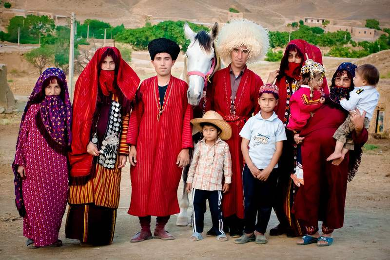 Iranian Turkmen - Turkmen's Clothing