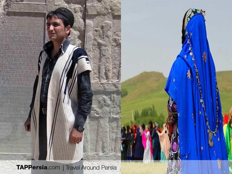 Lur Ethnic - Iran - Bakhtiari Clothing