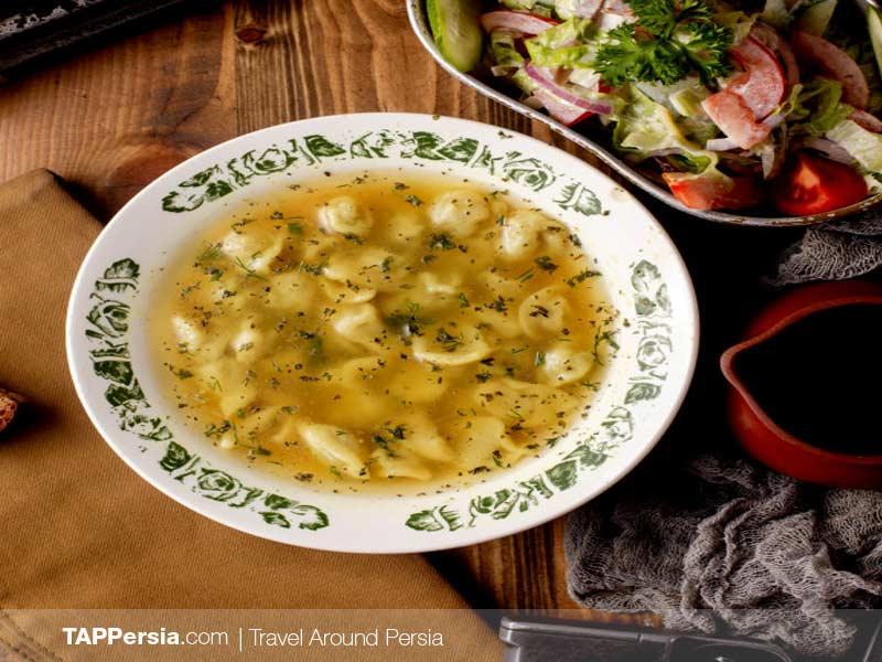Azeri Food - Iran - Dushbara