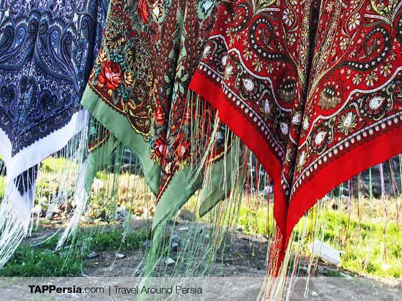 Iranian Turkmen - Turkmen Scarves