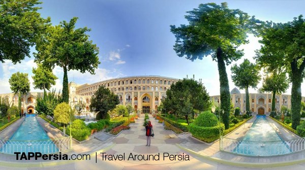 Abbasi Hotel - 5 star hotels of Isfahan
