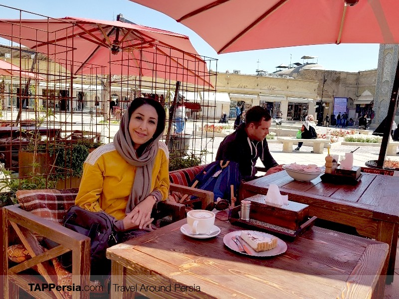 Cafe in Shiraz