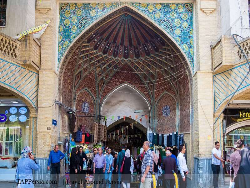 Tehran Grand-Bazaar-Tappersia