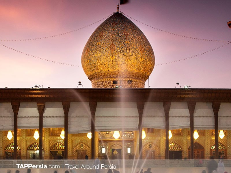 Shah-e-Cheragh Shrine - The mosque