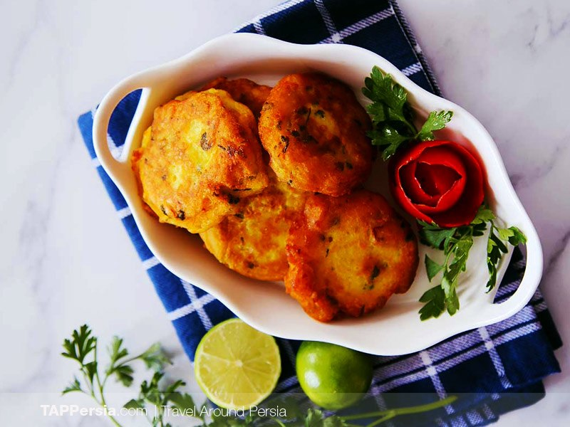 Persian Potato Pancakes (Kookoo) Recipe
