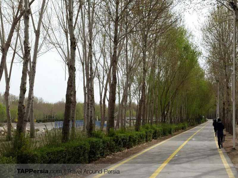 Nazhvan Forest Park - Isfahan Natural Attractions