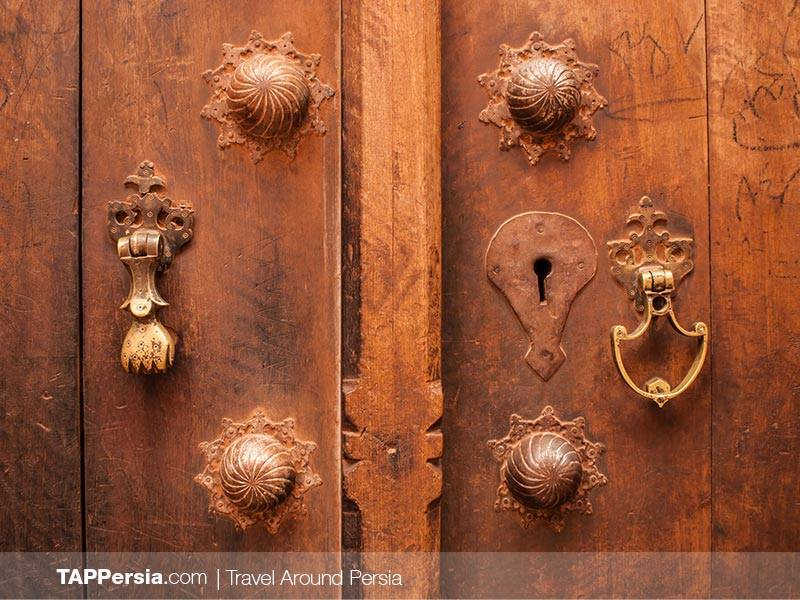 Koubeh - Door Knockers in Persian Houses