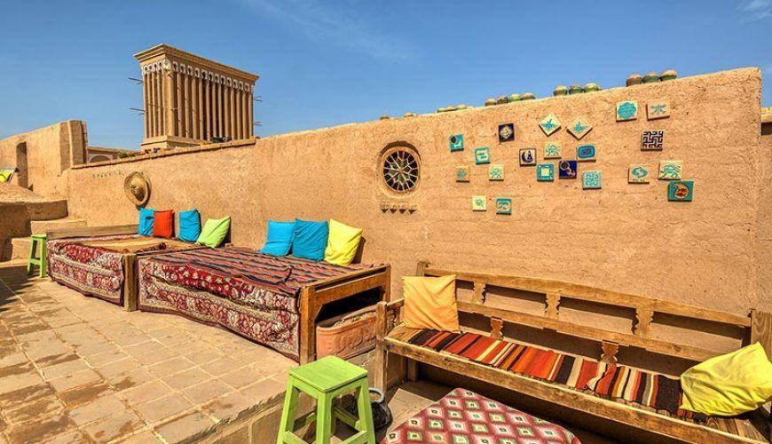 YAzd Rooftop - Bam-e Yazd