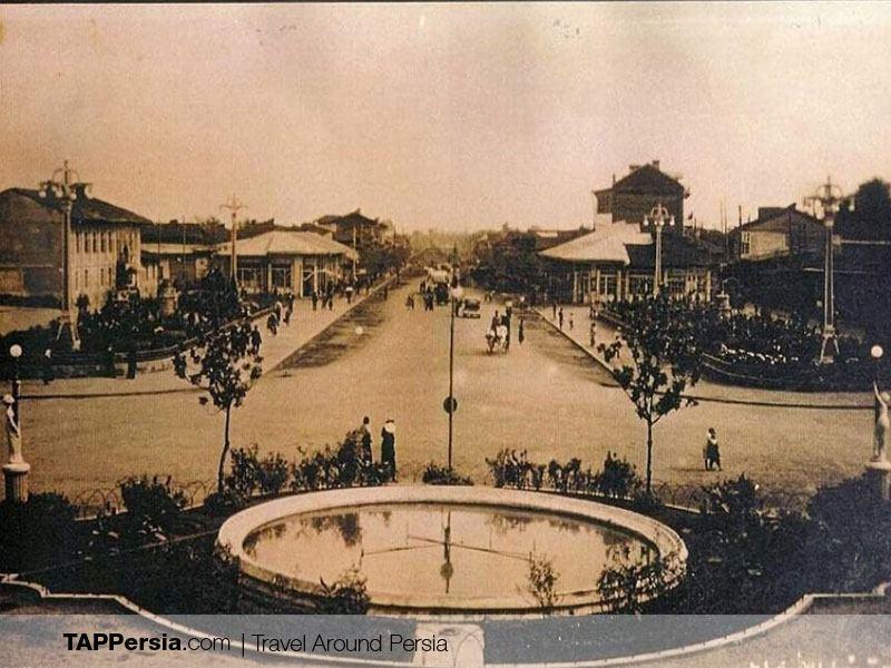 Shahrdari Square in Rasht - Iran - History