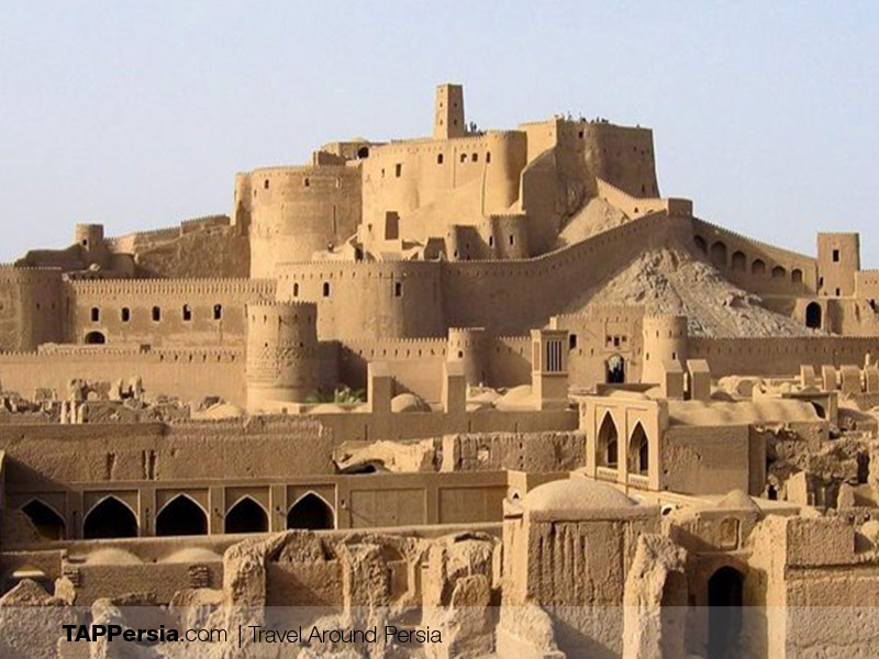 Citadels in Iran - Arge Bam - Tappersia