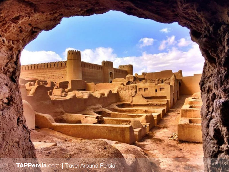 Citadels in Iran - Arge Rayan - Tappersia