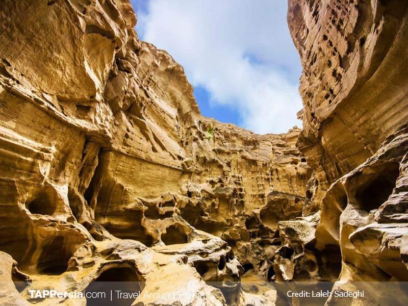 Top 10 Attractions In Qeshm Island - Chahkooh Canyon