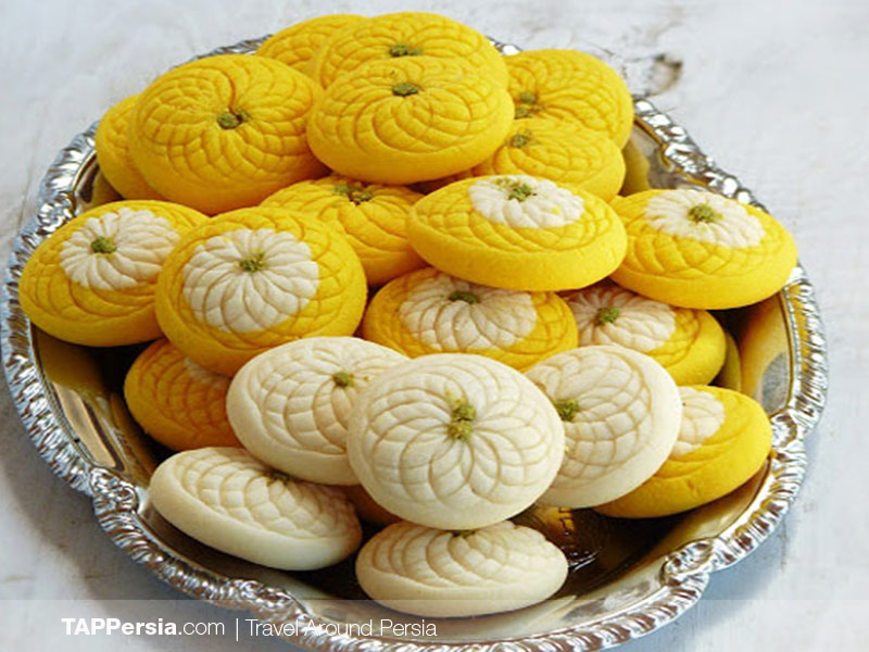 Nan-e Berenji - Persian Rice Cookie