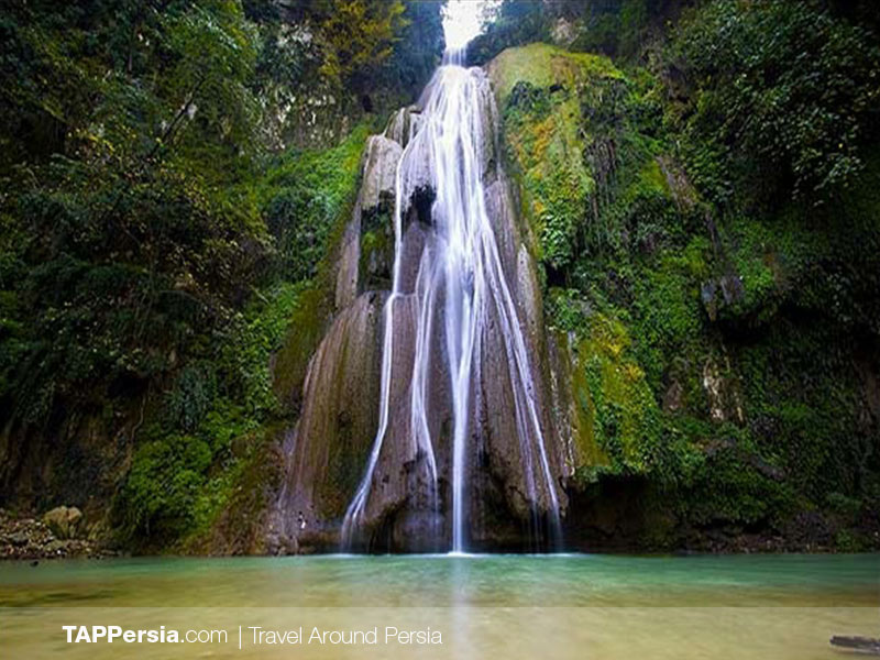 Epic Places in Iran - Loveh Waterfall