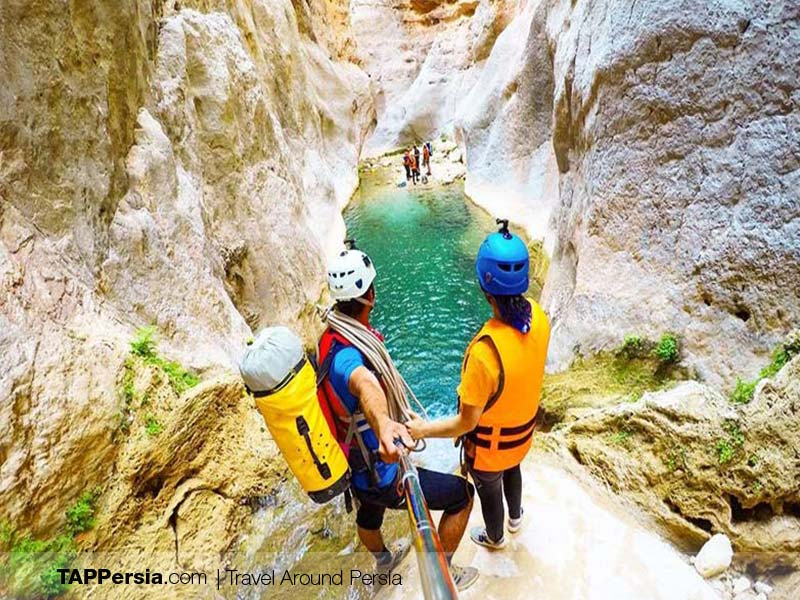 Epic Places in Iran - Raqez Canyon
