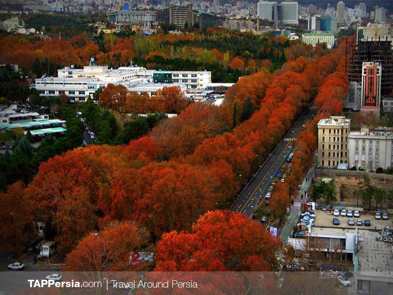 Valiasr Street - Tehran - Iran