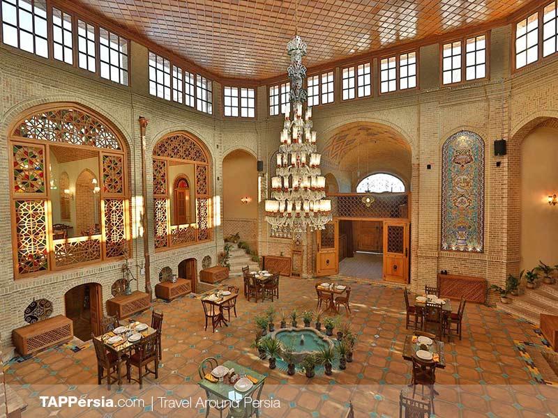 Yazd - Malek-ol-Tojjar Historical House