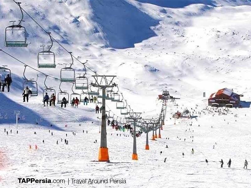 Tochal Ski Resort - Tehran - Iran