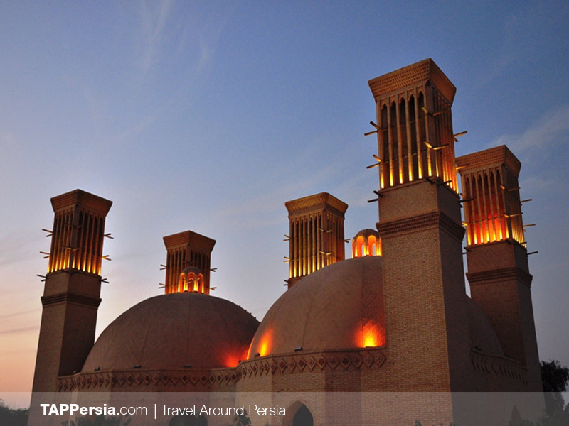 Yazd - Shesh Badgir Cistern