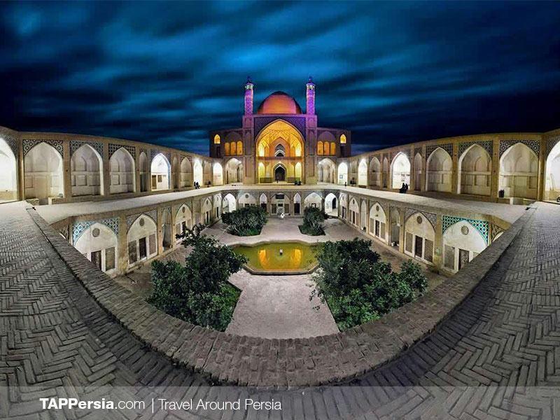 Agha Bozorg Mosque - Kashan - Iran